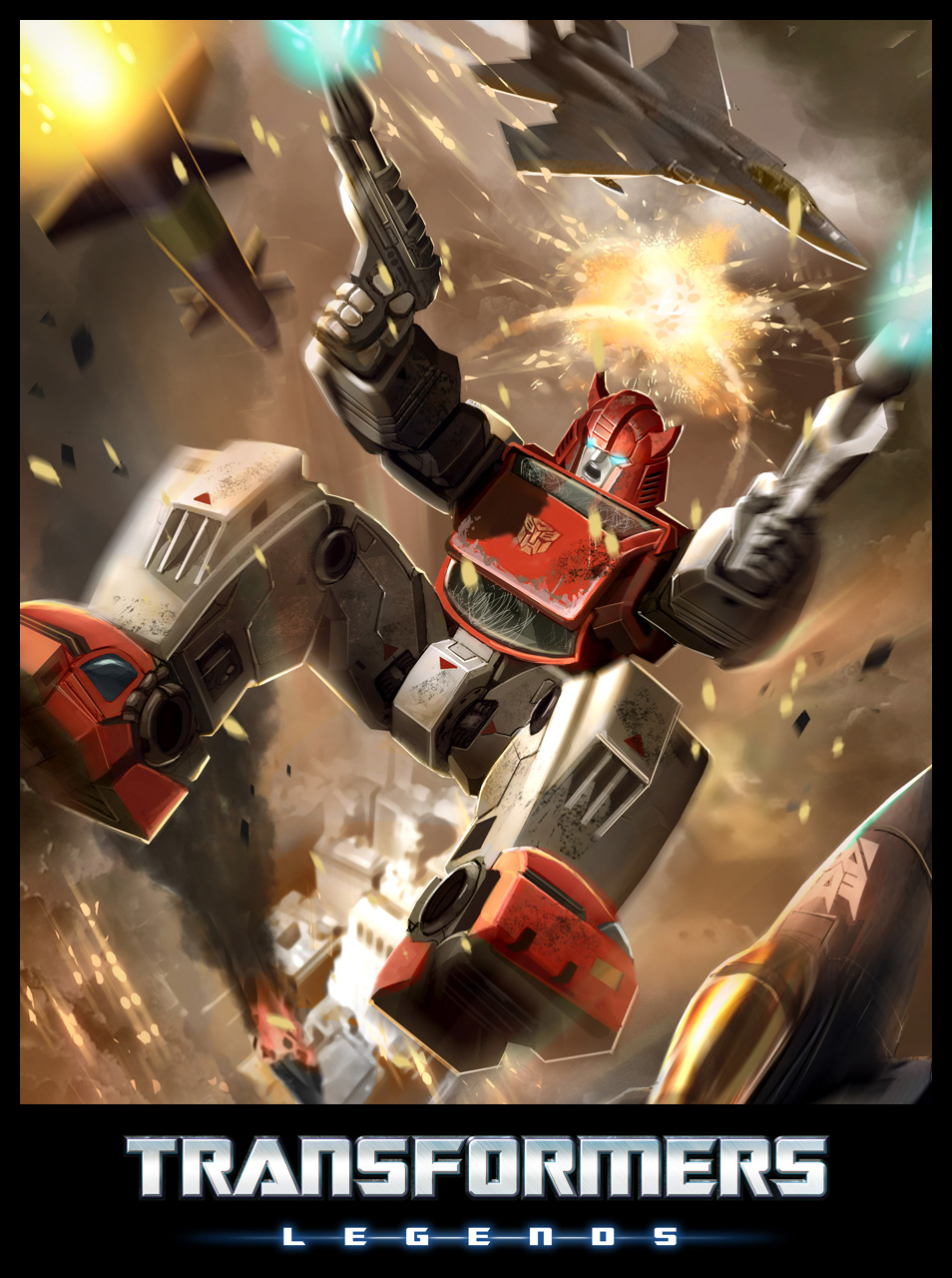 TRANSFORMERS: LEGENDS Free-to-Play Game launches for iPhone, iPad, iPod Touch + Android