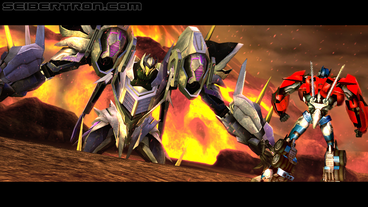 Activision's Wii U Transformers Prime Assets (includes Thunderwing reveal!)