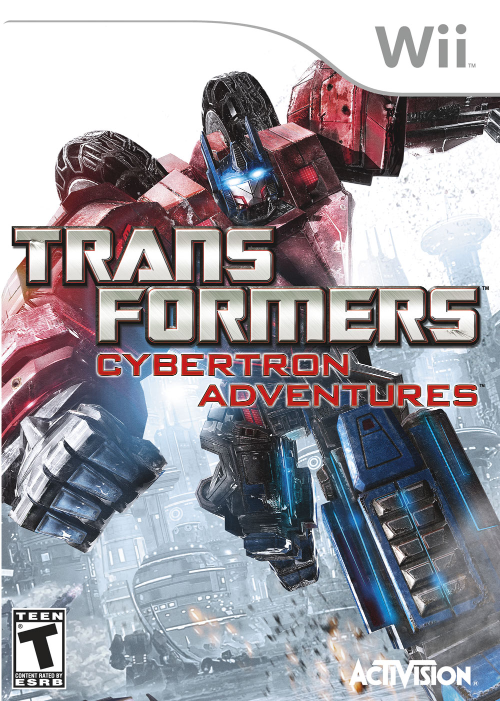 Transformers News: War for Cybertron box art revealed for consoles and