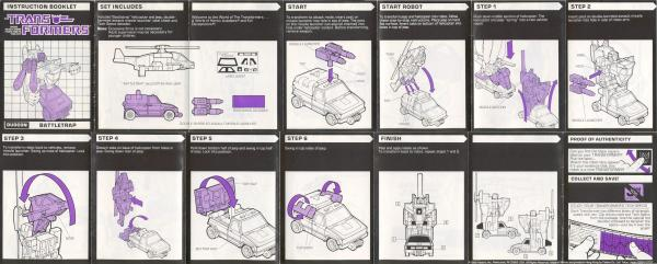 Instructions for Battletrap