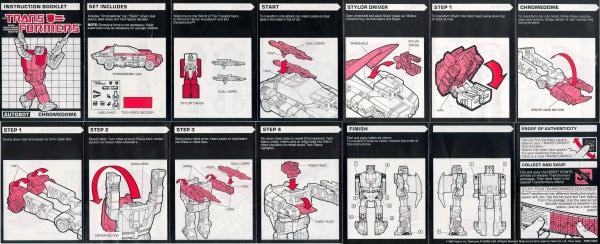 Instructions for Chromedome