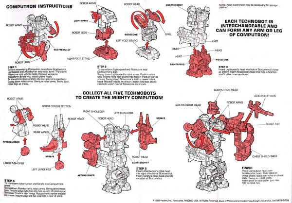 Instructions for Computron