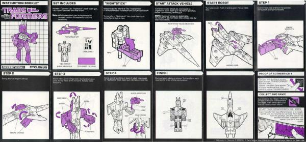 Instructions for Cyclonus