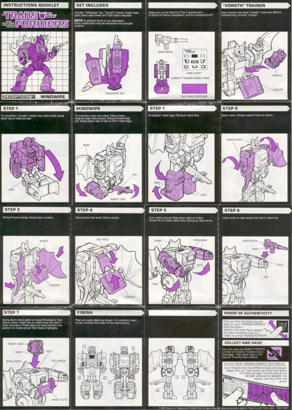 Instructions for Mindwipe