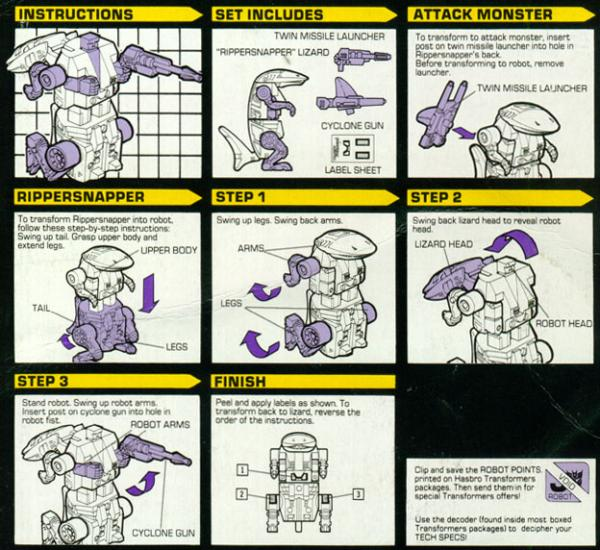 Instructions for Rippersnapper