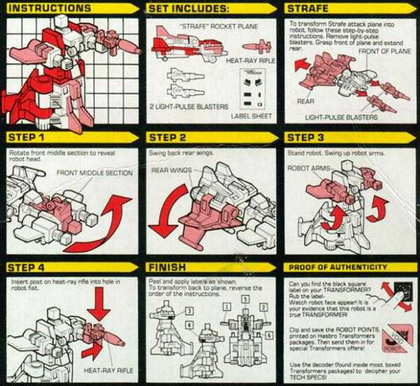 Instructions for Strafe