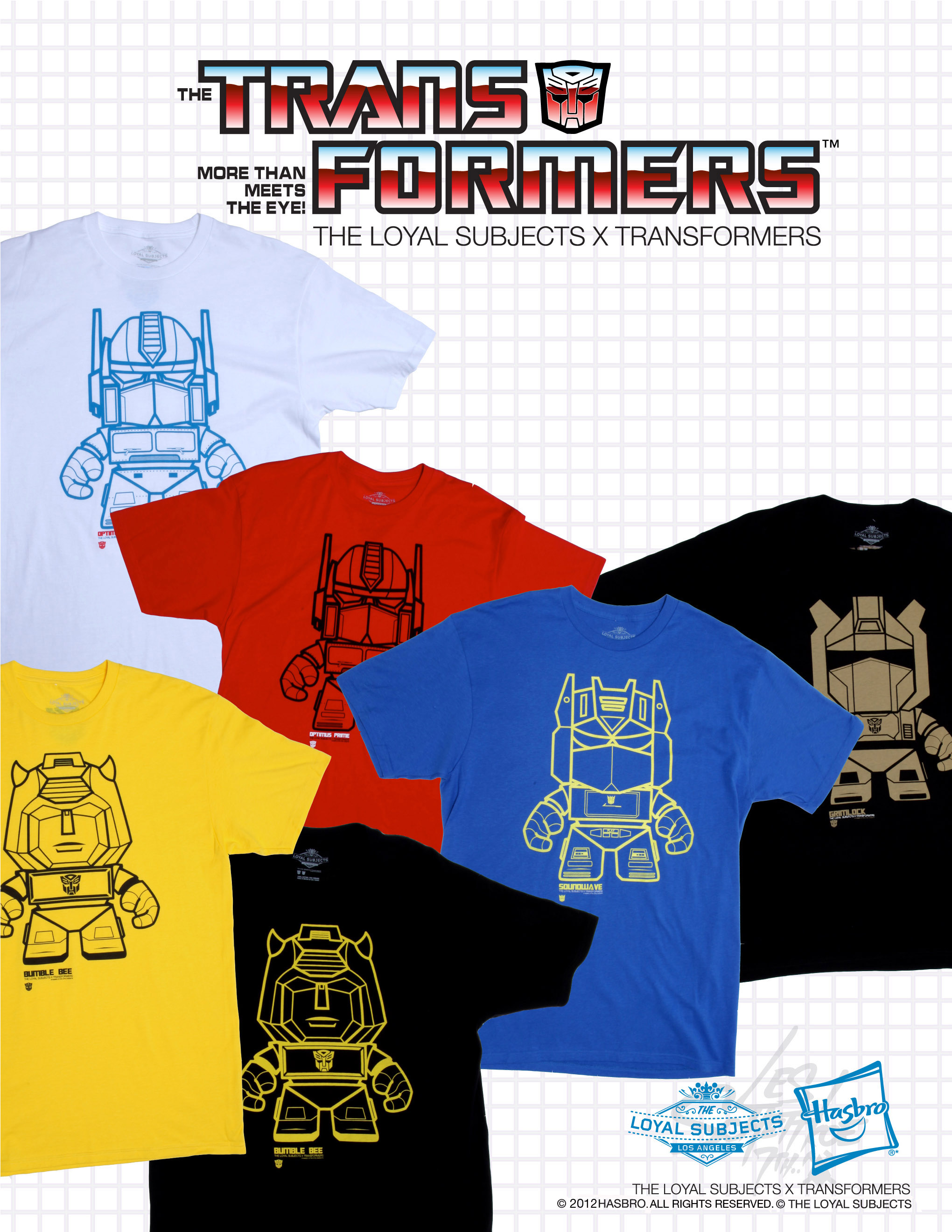 The Loyal Subjects reveals upcoming exclusives and more with their licensed Transformers merchandise
