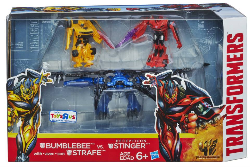 Product image of Stinger  with Bumblebee and Strafe Transformers 4 Bumblebee Vs Stinger
