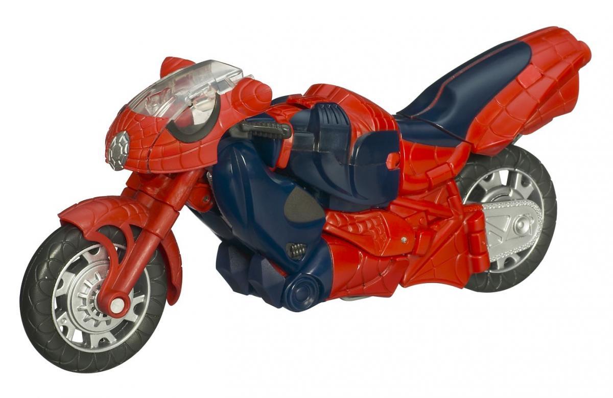 Spider man motorcycle redeco marvel transformers - Spider man moto ...