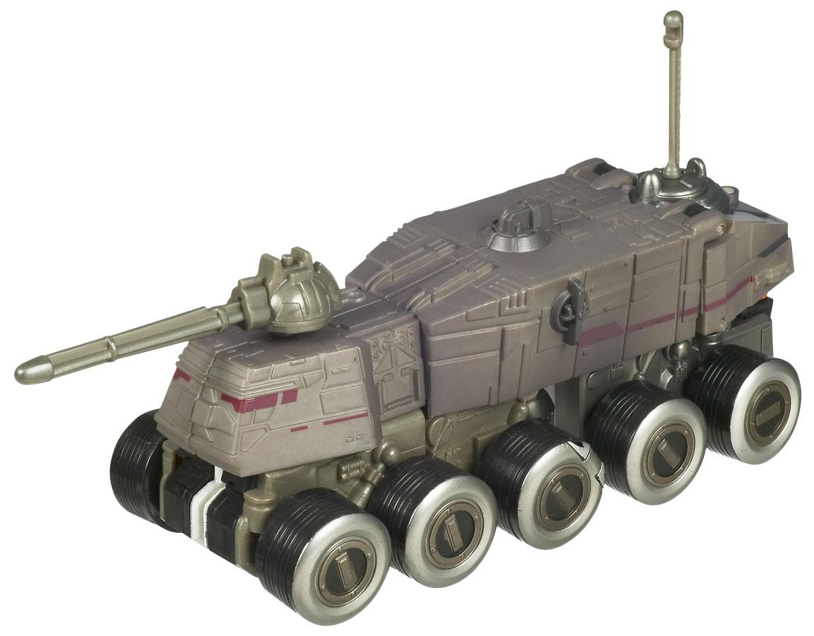 Clone Commander Cody Turbo Tank Star Wars Transformers