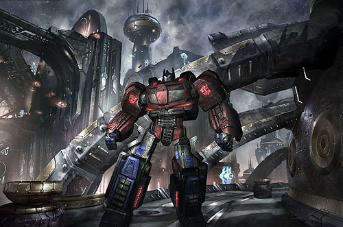 Seibertron.com talks to Hasbro and Activision about War For Cybertron