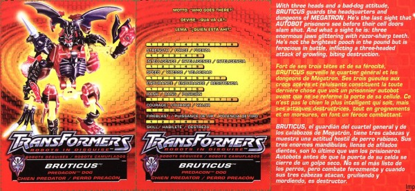 Transformers Tech Spec: Bruticus