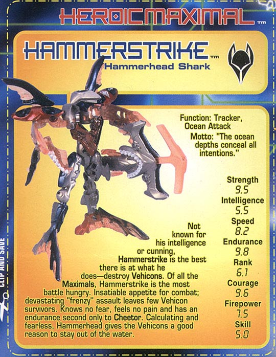Transformers Tech Spec: Hammerstrike