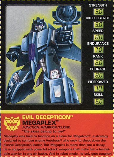 Transformers Tech Spec: Megaplex