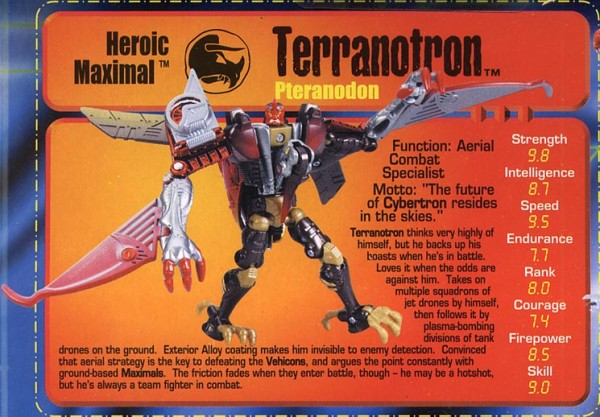 Transformers Tech Spec: Terranotron